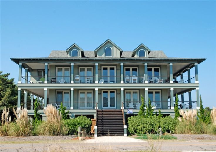 Twiddy Outer Banks Vacation Home Casa Playa Corolla Semi Oceanfront 10 Bedrooms Obx