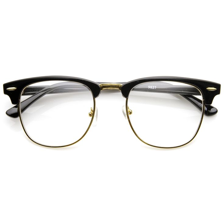 Ban Lens Ray Glasses Clear Clubmaster b7yYfg6