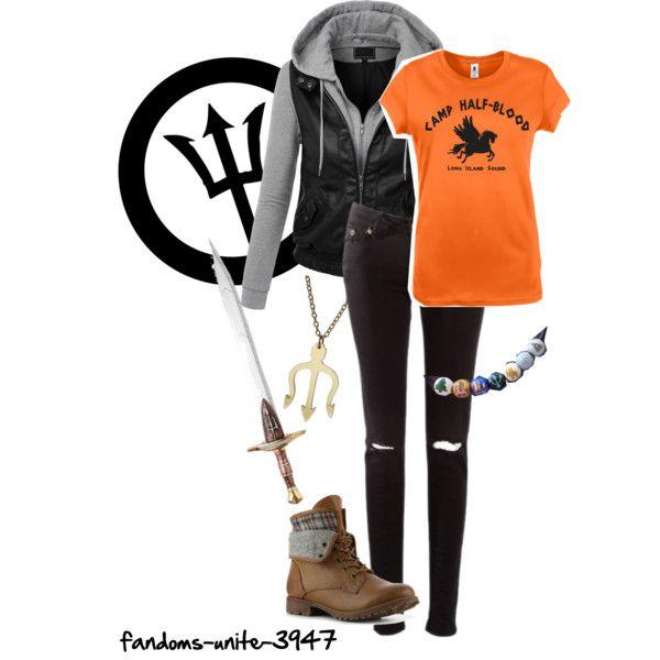 """DIY Halloween Costumes: Percy Jackson"" by fandoms-unite-3947 on Polyvore"