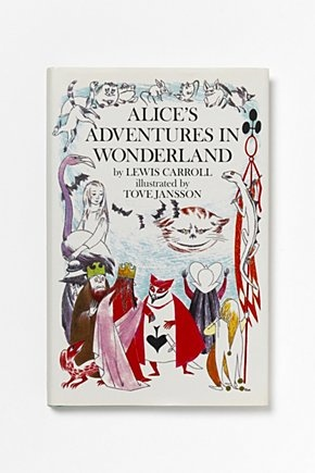 Alice's Adventure's in Wonderland illustrated by Tove Jansson