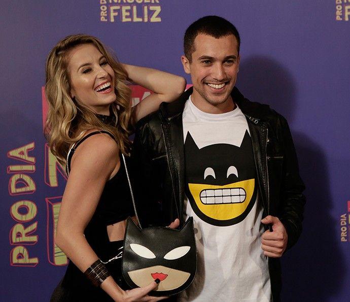 Barbara França e Ricardo Vianna: que sintonia nos looks! (Foto: Fábio Rocha / Gshow)