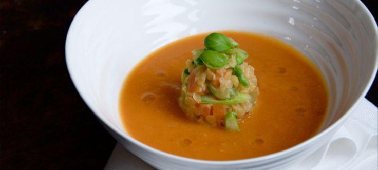 Tandoori Spiced Red Lentil Soup - the British Larder