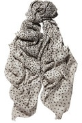 Mulberry| animal-print woven scarf