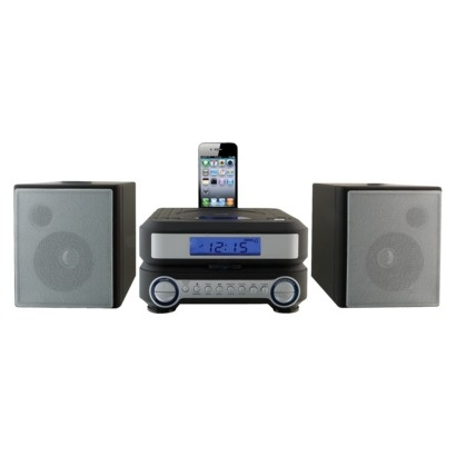 iLive Compact CD Player Stereo Home Music System with FM ...