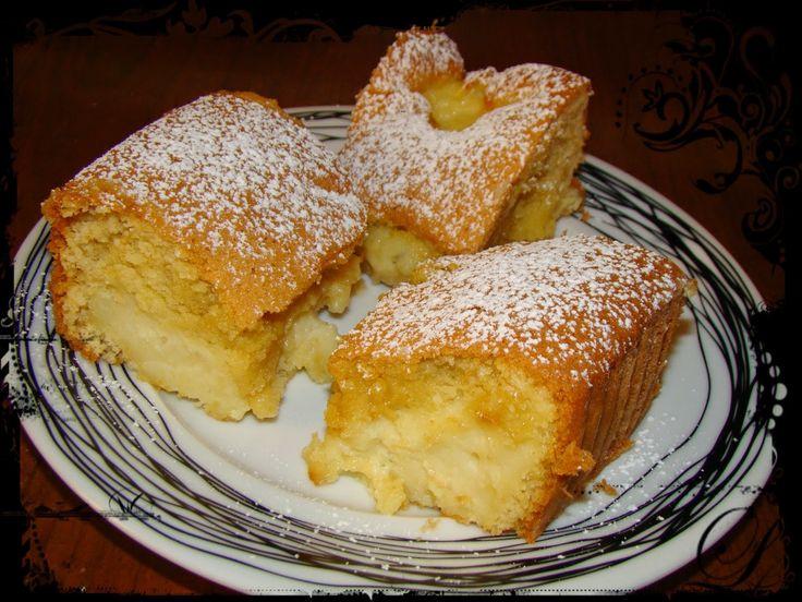 Olga's cuisine...και καλή σας όρεξη!!!: Κέικ ταψιού γεμιστό με κρέμα