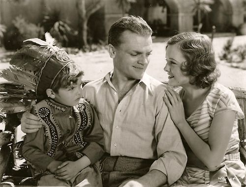 "Dickie Moore, James Cagney, and Marian Nixon in ""Winner Take All"" (1932).Indian Head, Famous People, Hollywood Vintage, Head Dresses, Movie, Classic Hollywood, Cagney Lap, Famous Face, Dickies Moore"