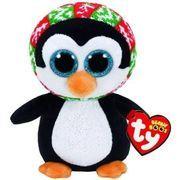 """Ty Beanie Boos Extra Large 25"""" Xmas Penelope the Penguin Plush"""