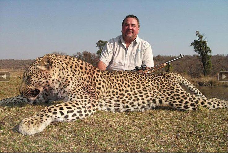 Leopard-hunting