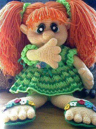 Amigurumi Zefirka Doll-Free Pattern