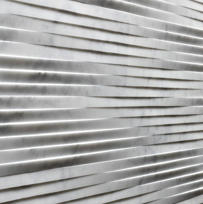 Three New Types of Marble at Lithos Design Cladding Collection - InteriorZine
