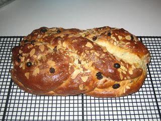 My Favorite Czech Recipes: Houska - Czech Christmas  Bread