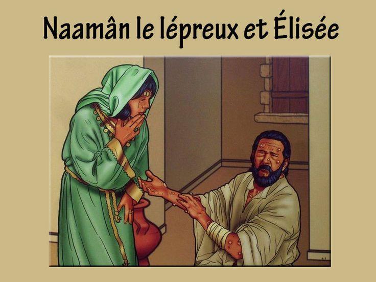 Elisée, Naamân le lépreux et la pauvre veuve