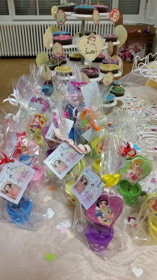 Disney Princess birthday souvenir. Clip photo.