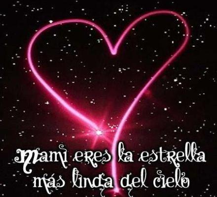 Mama, FELIZ dia de las MADRES, se que done estes estaras FELIZ , te mando un ramillete de besos, siempre estas presente en mi corazon.