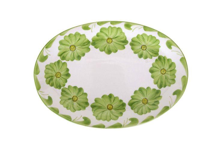Azulina Ceramics - Lima Oval Serving Platter