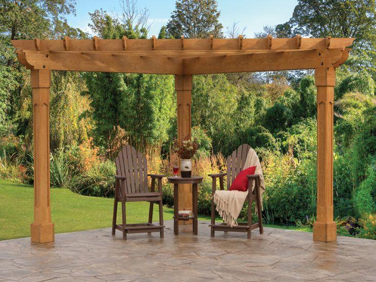 Best 25+ Pergola plans ideas on Pinterest Pergola, Diy pergola - garden arbor plans designs