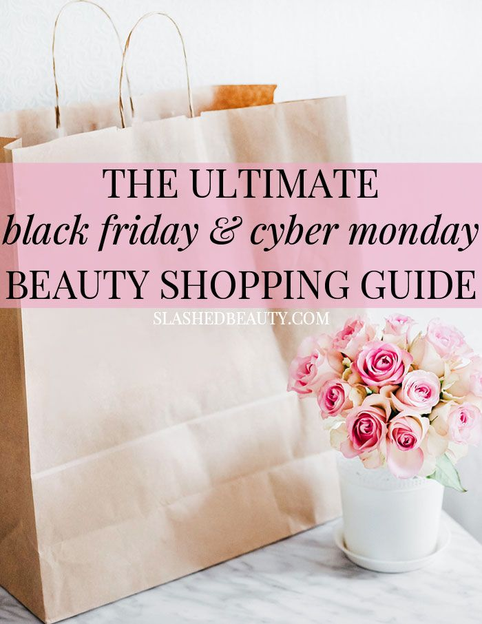 Take a look at all the best 2017 Black Friday and Cyber Monday beauty deals online and in-stores!   Slashed Beauty