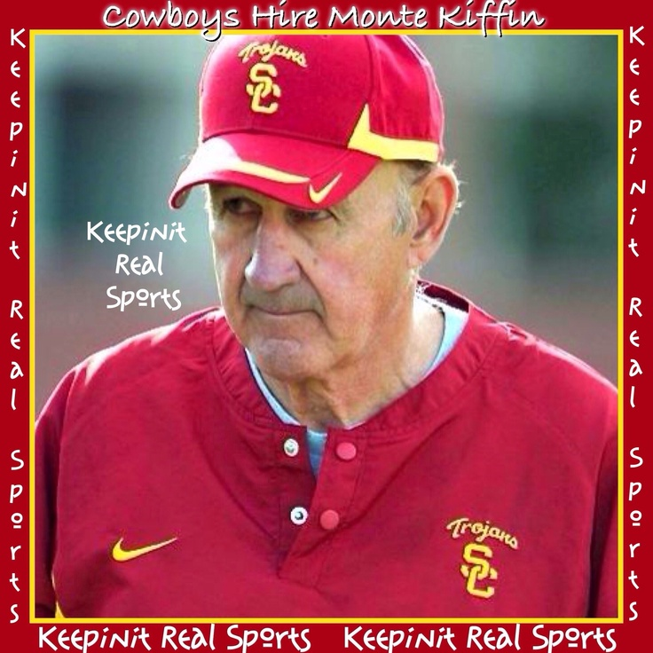 Keepinit Real NFL News: Cowboys Hire Monte Kiffin  The Dallas Cowboys have hired Monte Kiffin as their new defensive coordinator, three days after firing Rob Ryan. Kiffin spent 26 years as an NFL assistant coach, including a 13-year run as Tampa Bay's defensive coordinator before returning to college football in 2009.