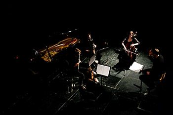 Chamber ensemble Dark Inventions combine music of different periods, FREE at the Rotunda 1pm Sunday for #coastival