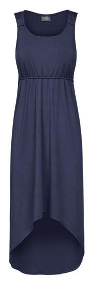 So stylish! High-Low Nursing Dress. $59 www.milkandbaby.com #breastfeeding