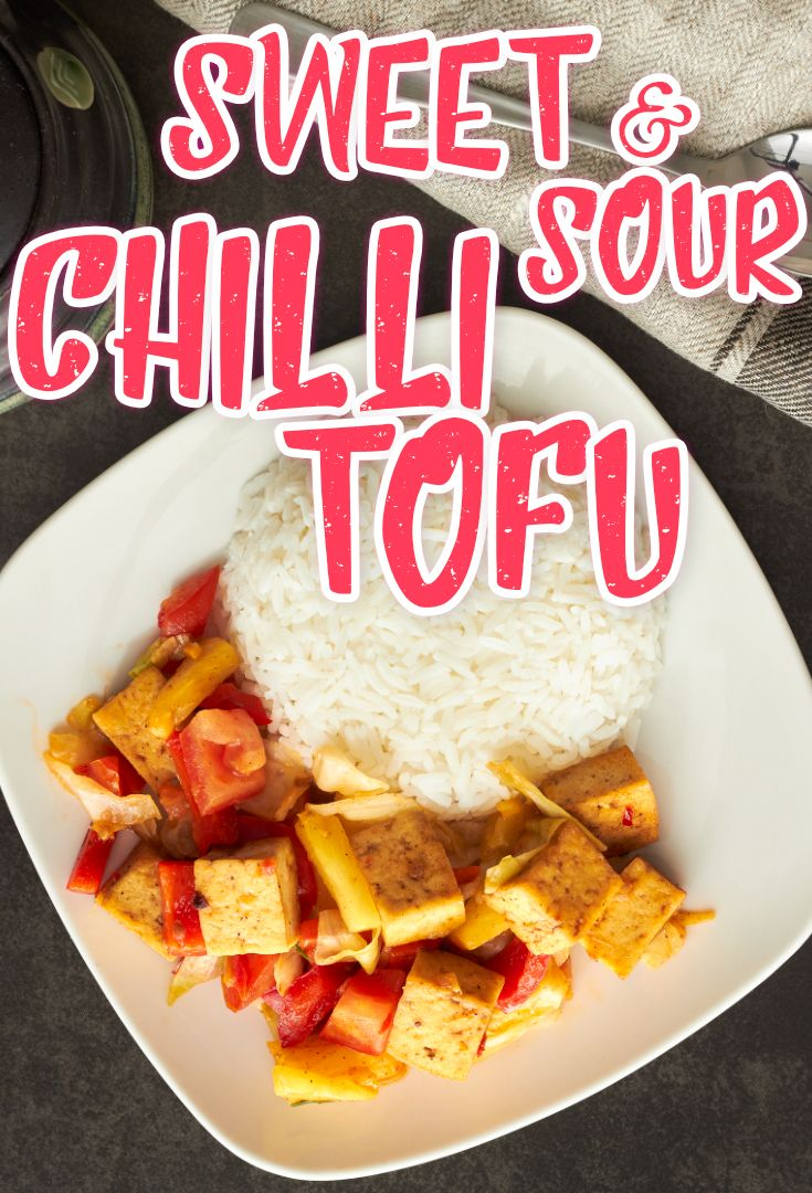 Sweet & Chilli sour TOFU! HEALTHY and DELICIOUS!