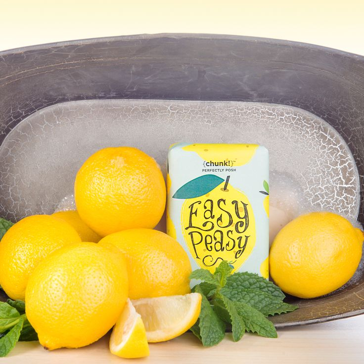 Keep bath time easy peasy lemon squeezy with this sweet mint and bright lemon bar. Rainforest Alliance Palm Oil and shea butter moisturize and hydrate, while lemon peel keeps you bouncing. Lather into hands and clean from head to toe, then rinse thoroughly. Use daily for maximum giggles and mood enhancement.
