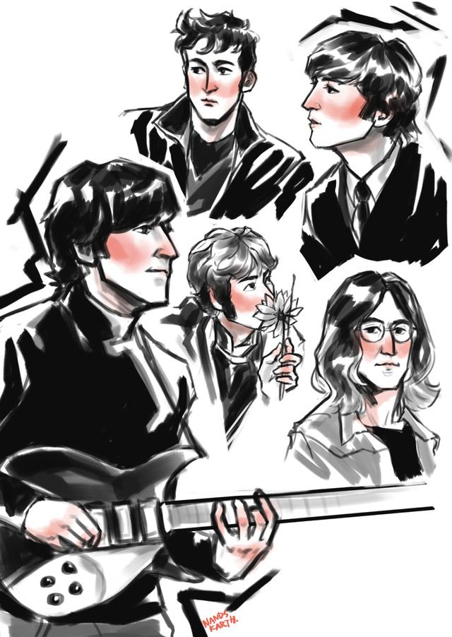 The Beatles Tumblr The Beatles Beatles Art Beatles Fan Art