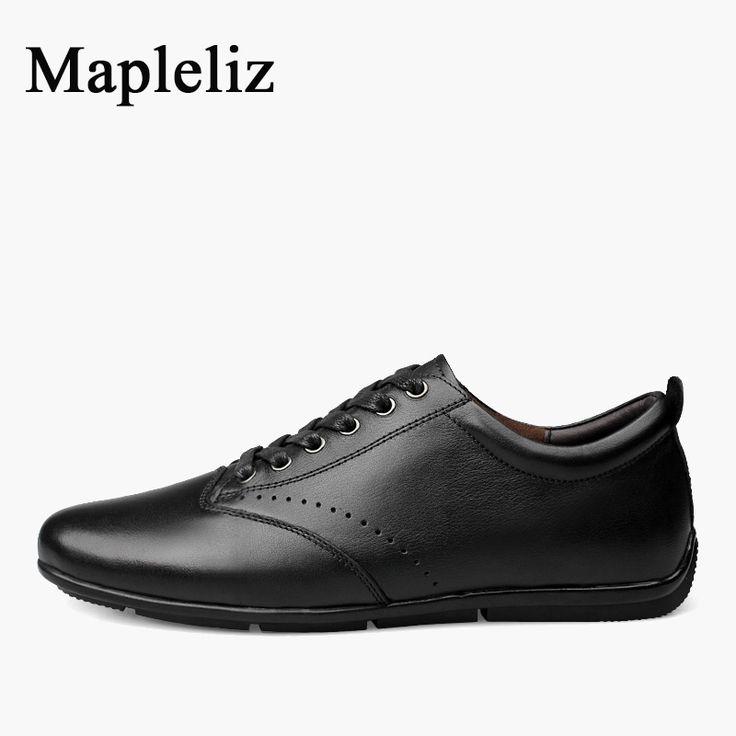 Chaussures en Cuir Noir Homme Derby Business Lace-up Business Suit Chaussures en Cuir Bullock Sculpté Chaussures Hommes De Grande Taille,Black-44