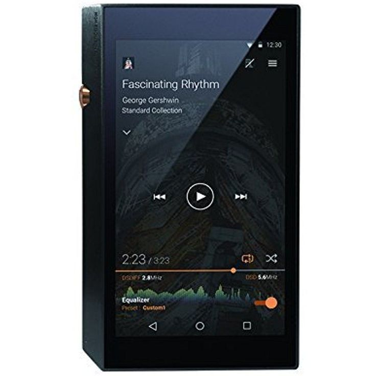 Pioneer Bluetooth and WiFi High-Resolution Portable Digital Audio Player, Black #Pioneer