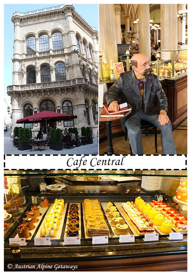 One of the grandest of all coffeehouses in Vienna. Cool