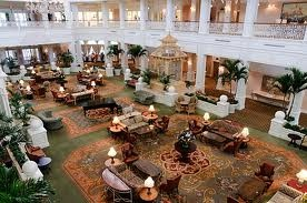 Lobby of Disney's Grand Floridian Hotel