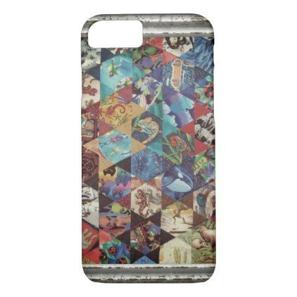 MultiColoured Arts Pattern iPhone 8/7 Case - personalize gift idea special custom diy or cyo
