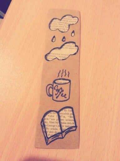 Yağmur*kahve*kitap