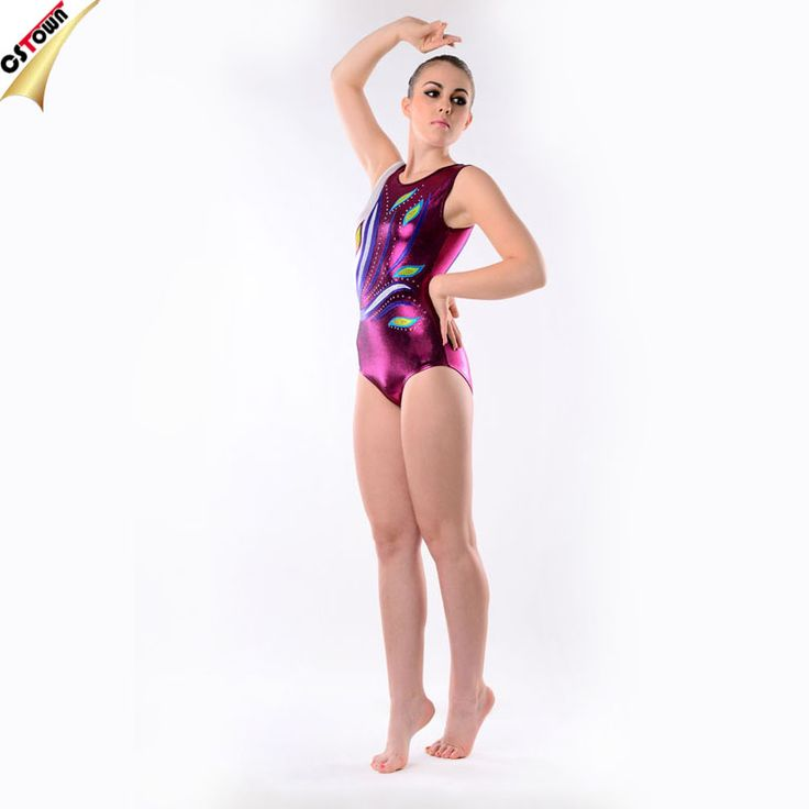 Fashion Peacock Pattern Elastic Wholesale Girls Training Spandex Gymnastics Leotards for Sale #adult_gymnastics_leotards, #Girls
