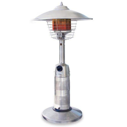 Buy it now Endless Summer Round Stainless Steel Tabletop Patio Heater, GWT801B