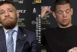 Conor McGregor Embarrassed Nate Diaz So Bad In This CNBC Interview That Diaz Walked Off Set