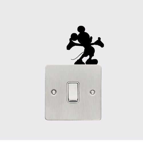 Wall Decal - Disney Micky Mouse Lightswitch Decal. £2.49, via Etsy.