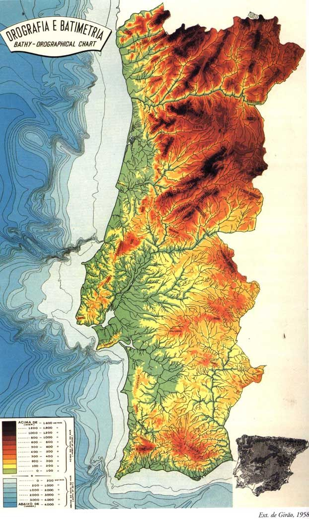 Best Portugal Images On Pinterest Portugal Big Wave Surfing - Portugal geology map
