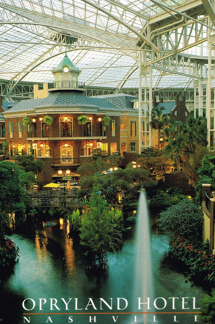 The Opryland Hotel In Nashville Is Really Something To See We Didn T Stay There But Visited Just It Best Way Describe S