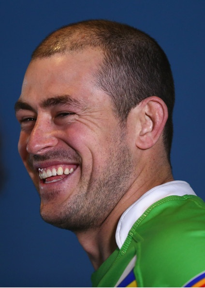 Canberra Raiders club captain - Terry Campese - 2012 NRL Finals Series Launch