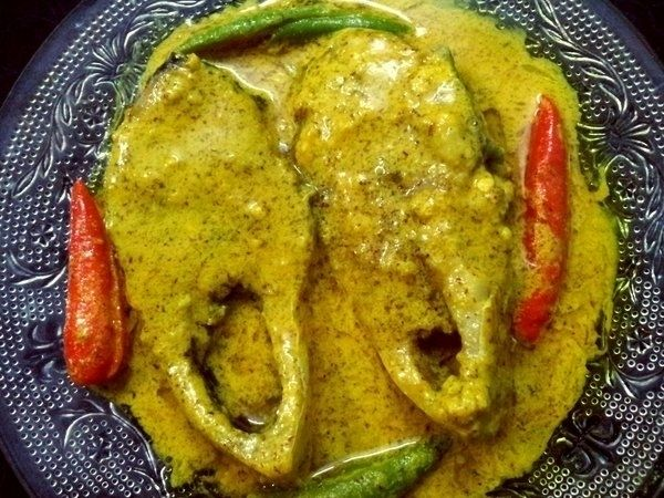 Vapa Ilish/Hilsa fish in Microwave – 2 minutes preparation