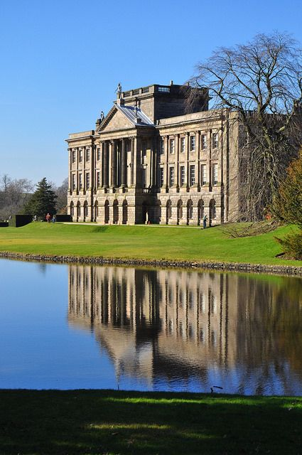 Lyme Park, Disley, Cheshire, England, dates from the late 16th century by sergiovelayosf, via Flickr