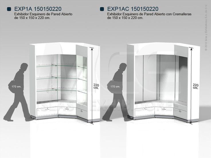 diseños muebles exhibidores - Buscar con Google