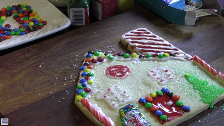 Cut-Out Christmas Cookie