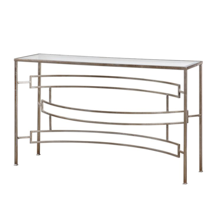 Brand new beautiful home accent. Eilinora Silver Console Table by Uttermost #homedecorations #homedecorshop #homedecorate #homedecorstore #homeaccessories #homedecoration #homedecorating #interiordesigninspiration #innovationsdesignerhomedecor #homedecorationideas $503.80 ➤ http://bit.ly/2Cn2FLA