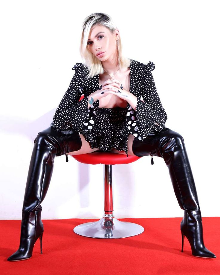 ALINA70 negro   – Stiefel
