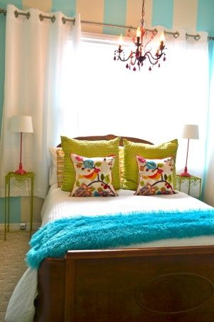 Transitioning from a little girls room to a teenagers room How to redo a bedroom cheap