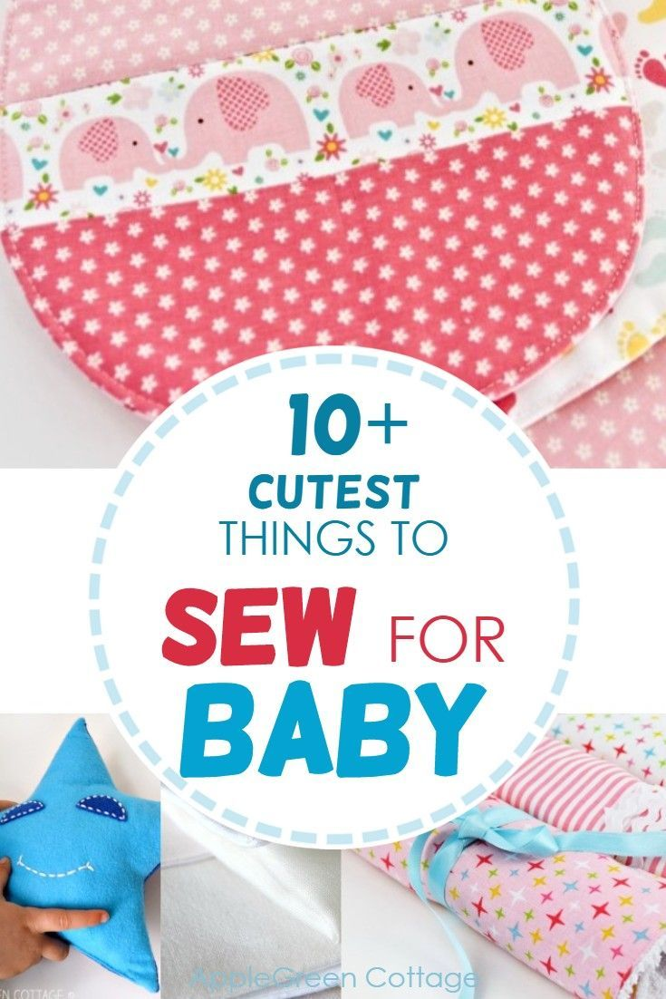 10 Adorable Things To Sew For Baby