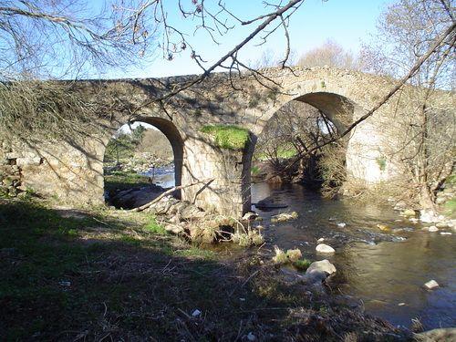 Puente Romano sobre el Río Ambroz.