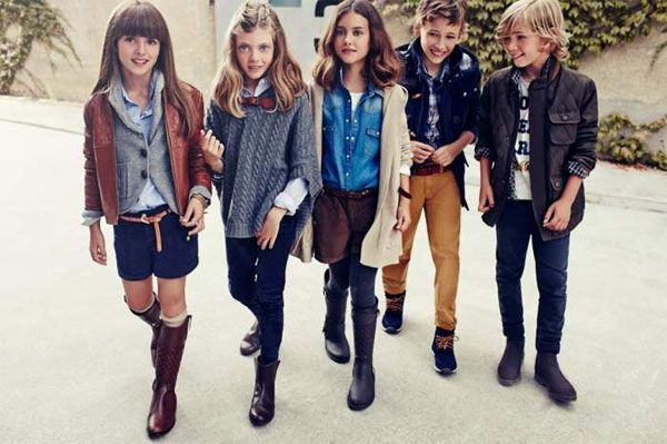 Massimo Dutti y su colección de ropa para niños 2014
